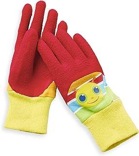 Melissa & Doug Giddy Buggy Good Gripping Gardening 手套,带易抓握橡胶材质,适合 3-6 岁儿童