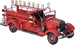 质量 Judaica 复古金属飞机 Menorah 光明节用 消防车