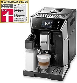 "De'Longhi 德龍PrimaDonna Class ECAM 556.55.SB全自動咖啡機,3.5""TFT材質彩色觸摸屏 集成卡布基諾系統,APP控制,19 bar泵壓,2杯性能,黑色"