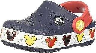 Crocs 卡骆驰儿童 Crocband Fun Lab Mickey 发光洞鞋