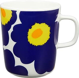 Marimekko Unikko 马克杯 白色x*蓝 250毫升 063431-002