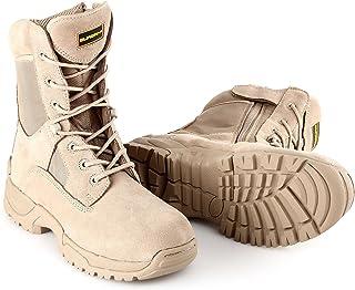 BURGAN 871 TAC Force 8 英寸战术拉链靴