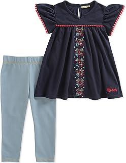 Lucky Brand 女婴裤套装