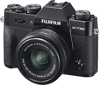 Fujifilm 富士相機16619267 X-T30 Schwarz mit XC15-45 mm 黑色