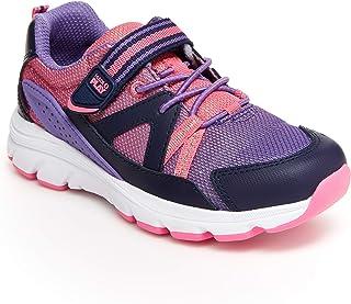 Stride Rite 女童 M2P 旅行运动鞋,Purple Multi,1.5 Little Kid