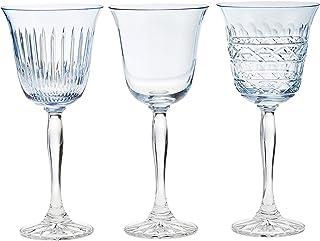 Crystaljulia 14684 *杯 3 件套,水晶,浅蓝色