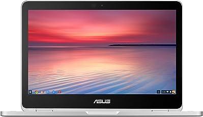 ASUS FULL HD 翻转 chromenook 笔记本–银色
