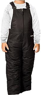 Arctix 婴儿/幼儿胸前高雪围兜连体衣 5岁 黑色 1575-00-5T -00-5T