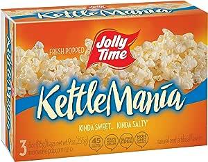 Jolly TIME kettlemania 微波炉爆 Sweet 和沙第 GOURMET 水壶玉米