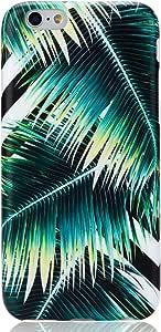 "iPhone 6手机壳 iPhone 6S 手机壳 vivibin 减震哑光 TPU 软硅胶保护壳手机保护套适用于 iphone 6/ iPhone 6S–11.9cm 棕榈 4.7"""