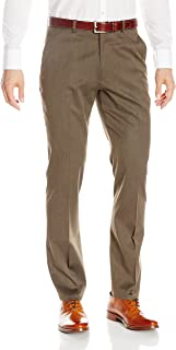 Perry Ellis Men's Travel Luxe Slim Fit Heathered Solid Pant