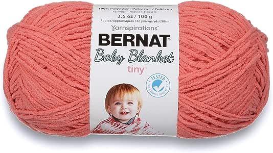 Baby Blanket Tiny Yarn-Tea Rose