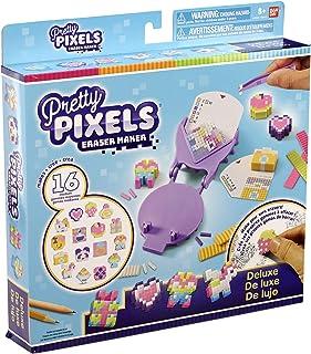 Pretty Pixels 橡皮制作机迷你包 豪华版 Deluxe Purple, Pink, Leaf Green, Yellow, White
