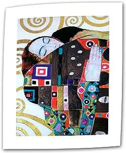 艺术墙 Beethoven frieze 40.64 x 60.96 cm 平底/卷边帆布 Gustav klimt 出品 5.08 cm 镶边