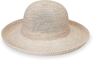 Wallaroo Hat Company 女式維多利亞遮陽帽 - 超輕,易收納,現代風格,澳大利亞設計。