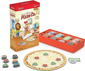 Osmo 欧诗木 Pizza Co. 游戏——5-12岁——沟通技巧和商务数学——适用于iPad和Fire平板电脑(需要基本配置)