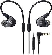 Audio-Technica ATH-LS300iS 入耳式三重骨架驱动耳机 带串联麦克风和控制
