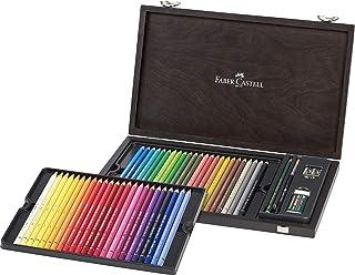 Faber-castell Albrecht durer 48 水彩铅笔工作室套装,每盒 48 种颜色 (fc117506)