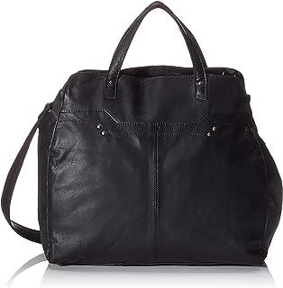 PIECES Pccora Leather Daily Bag 女士单肩包 黑色 12 x 32 x 35 厘米