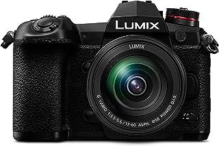 Panasonic 松下 Lumix DC-G9MEB-K 12-60毫米 G Vario镜头无反射镜小巧系统相机 - 黑色