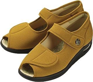 [玛丽安妮] 凉鞋 护理鞋 彩彩 绉绸 W1103