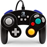 任天堂切换有线控制器 - GameCube 风格:黑色 (NNintendo Switch)