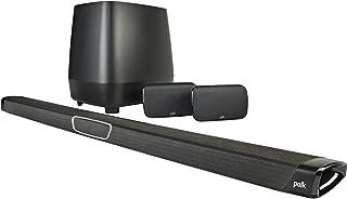 Polk Audio MagniFi MAX SR True 5.1 家庭影院音棒和无线后环绕声系统 - 黑色