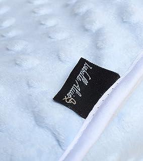 Isabella Alicia 超柔软蓝色凹陷抱被织物,0.3 千克