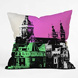 DENY Designs Amy Smith Holland Throw Pillow, 18 x 18