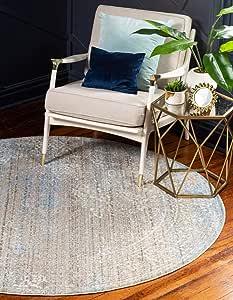 Unique Loom Brighton 系列波西米亚传统明亮复古绿色小地毯