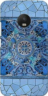 DISAGU SF/SDI 5577 580 Zub CC7427 MOTO G5 Plus 设计保护套蓝色马赛克设计