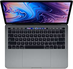 【2018新款】Apple 苹果 MacBook Pro 13英寸笔记本电脑 四核第八代Core i5处理器2.3GHz/8G/512G SSD/MR9R2CH/A 深空灰 苹果电脑 Multi-Touch Bar 套装版【内含定制版内胆包+罗技无线蓝牙鼠标+Chirslain清洁套装】