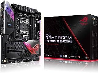 华硕 ROG Rampage VI Extreme Encore,X299 LGA 2066 E-ATX 游戏主板,适用于英特尔酷睿 X 系列处理器 Aura Sync RGB 照明