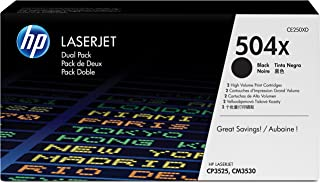 HP 504 A 黑色原装 LaserJet TONER CARTRIDGE (ce250 a)