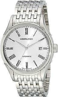 Hamilton 男士 H39515154 永恒级模拟显示自动自动挂风银色手表