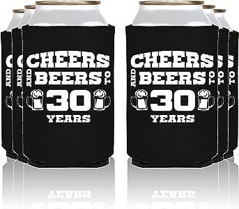 NeeNoNex Cheers And Beers 30 年绝缘罐冷藏机 - 父母 Blk, 30 Years