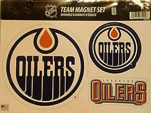 Rico NHL 油工队磁铁板,22.86cm x 12.7cm x 0.5cm,队徽