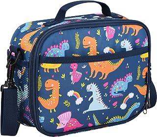Momcozy 儿童午餐袋男女适用,学校和旅行*保温午餐盒,适用于大多数儿童午餐盒,如 Bentgo、DaCool、Bento 等。 恐龙
