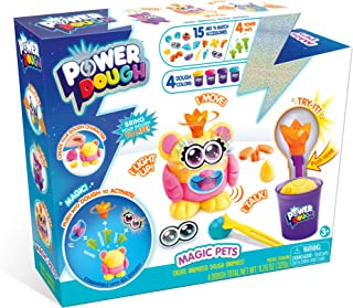 CANAL TOYS Power Dough Magic 寵物箱互動面團(24 件)