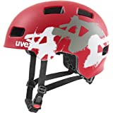 uvex 男女通用,hlmt 4 cc 自行车头盔,红色垫子,55-58 厘米
