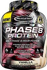Muscletech肌肉科技 缓释蛋白质粉增健肌粉 香草味4.6磅(2.09kg)