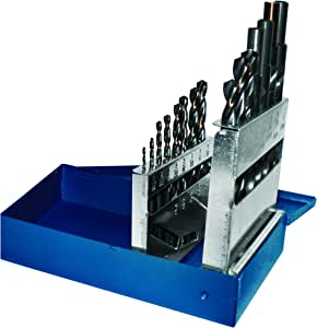 Century Drill and Tool 25230 充电器高速钢钻头套装 15 Piece 25230