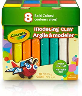 Crayola 2 lb Modeling Clay in Assorted Colors