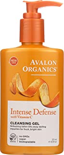 Avalon Organics Refreshing Cleansing Gel, Vitamin C, 8.5-Ounces (Pack of 3) 8.5 FZ