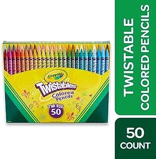 Crayola 50 支旋转彩色铅笔