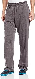 Champion 男式開底輕質平紋針織運動褲