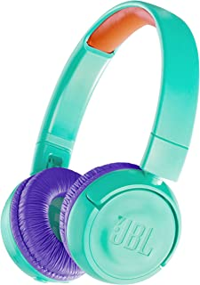 JBL 儿童蓝牙头戴式耳机 搭载音量控制功能/附自定义贴纸 JBLJR300BTTEL