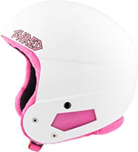 Shred 儿童Brain Bucket 迷你头盔 White Pink XS