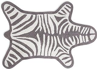 Zebra 浴室地毯,GRAY 灰色 Grey 20816