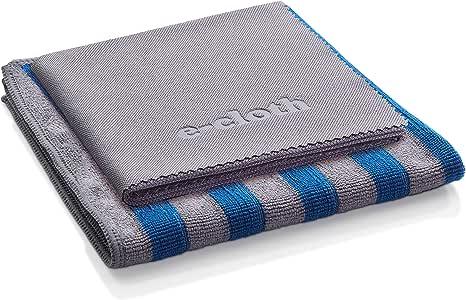 E-Cloth Range & Stovetop 超细纤维清洁布 蓝色和灰色 2组 10616SE